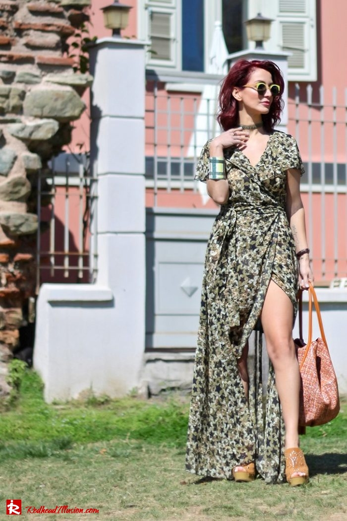 Redhead Illusion - Fashion Blog by Menia - Editorial - One for all - Denny Rose Dress-04