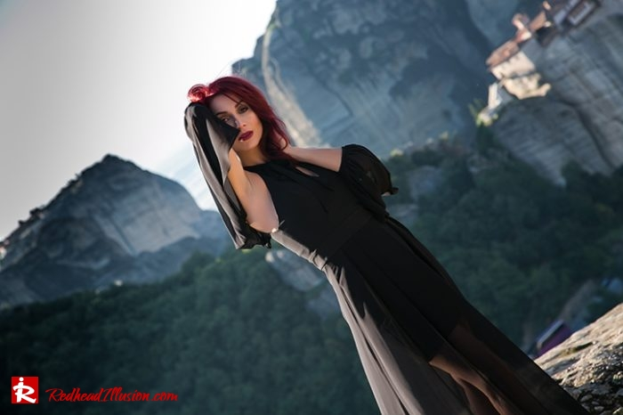 Redhead Illusion - Fashion Blog by Menia - Editorial - Suspended in space - Toi-Moi Maxi Dress-03