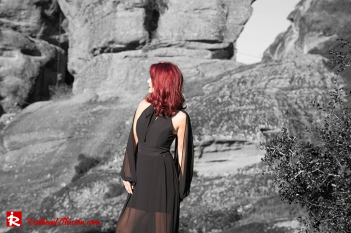 Redhead Illusion - Fashion Blog by Menia - Editorial - Suspended in space - Toi-Moi Maxi Dress-04