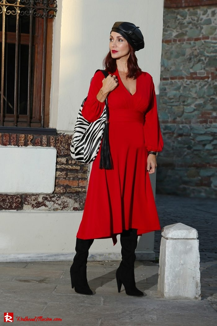 Redhead Illusion Personal Style Fashion Blog By Menia
