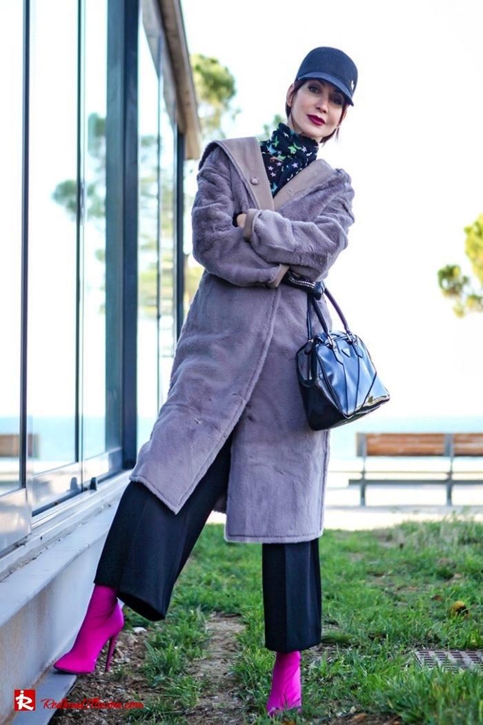 Redhead Illusion - Fashion Blog by Menia - Fuchsia touch-02