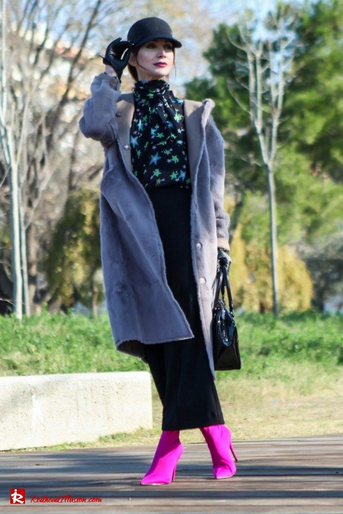 Redhead Illusion - Fashion Blog by Menia - Fuchsia touch-03