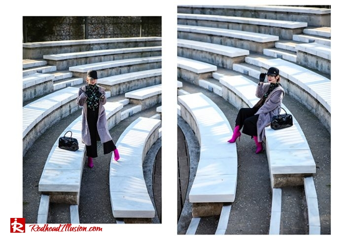 Redhead Illusion - Fashion Blog by Menia - Fuchsia touch-04
