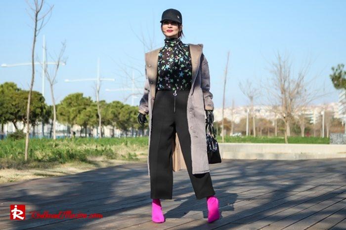 Redhead Illusion - Fashion Blog by Menia - Fuchsia touch-05