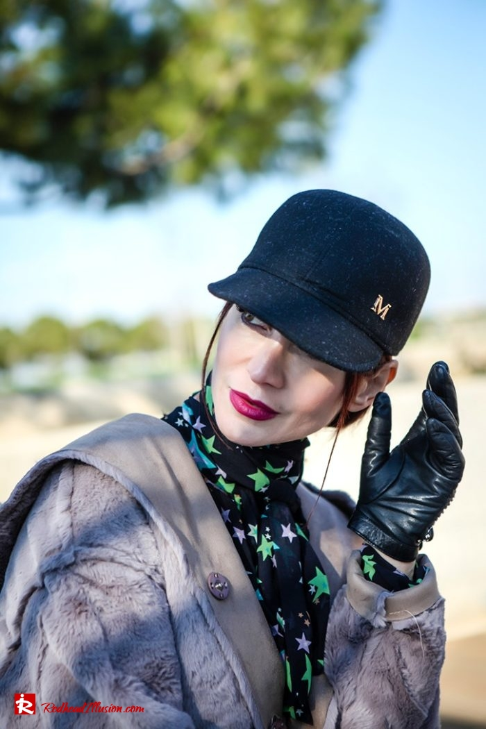 Redhead Illusion - Fashion Blog by Menia - Fuchsia touch-08