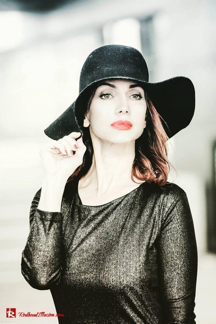 Redhead Illusion - Fashion Blog by Menia - Inspirations - The Hat Edition-01 - Georgoulias