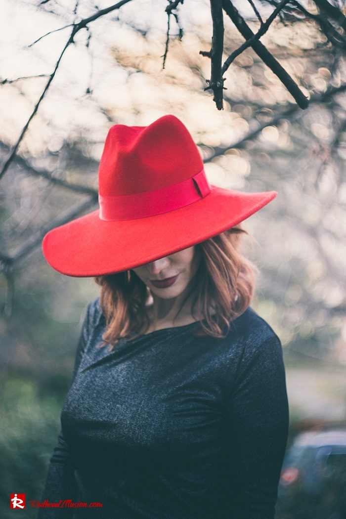 Redhead Illusion - Fashion Blog by Menia - Inspirations - The Hat Edition-10 - Tambakis