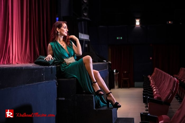 Redhead Illusion - Fashion Blog by Menia - Emerald Maxi Dress-07