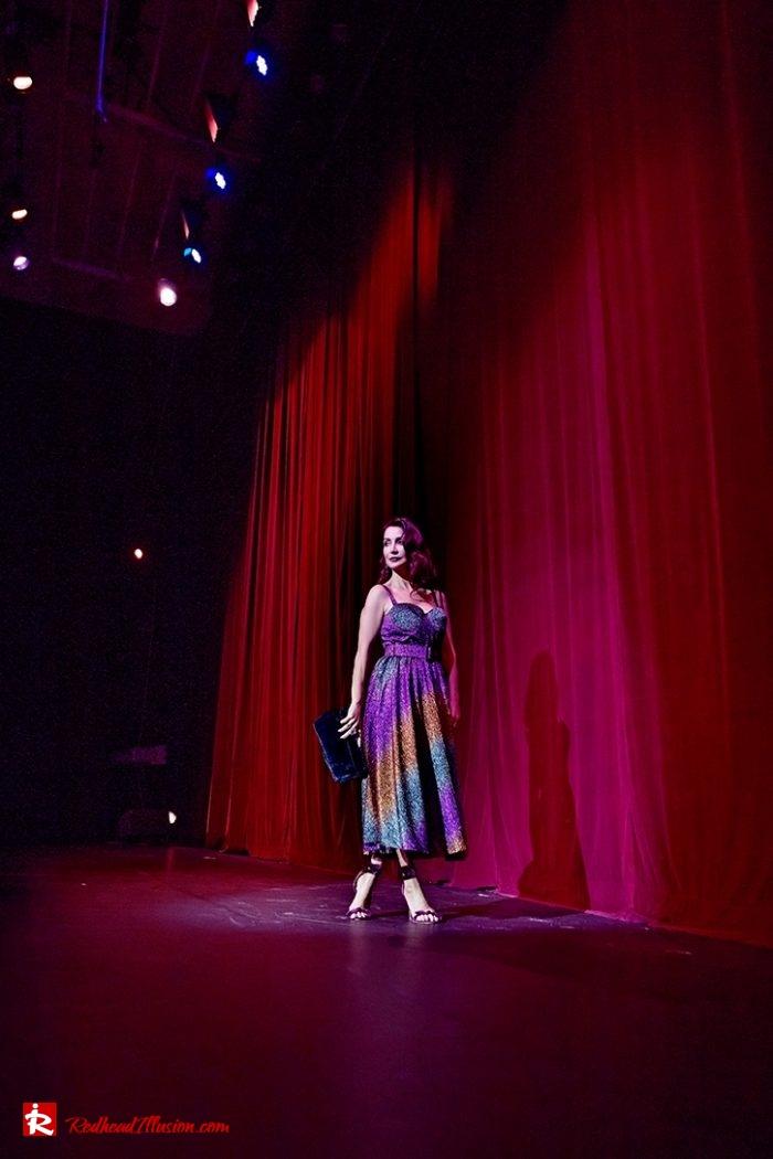 Redhead Illusion - Fashion Blog by Menia - Multicolored Lurex Ball Dress-02
