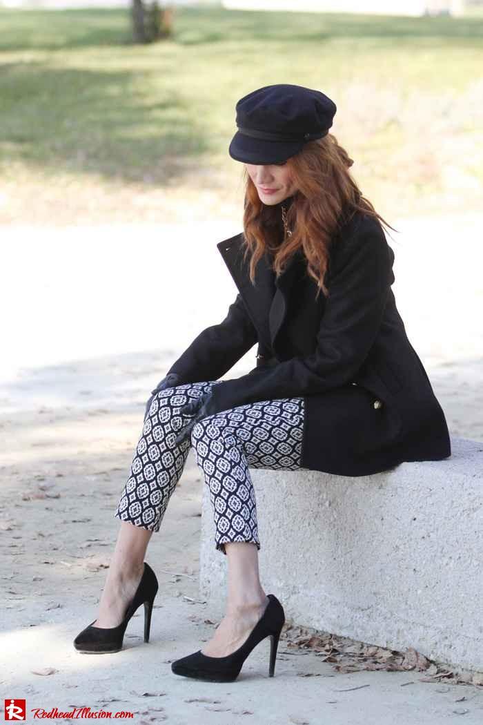 Redhead Illusion - My hat on - 10
