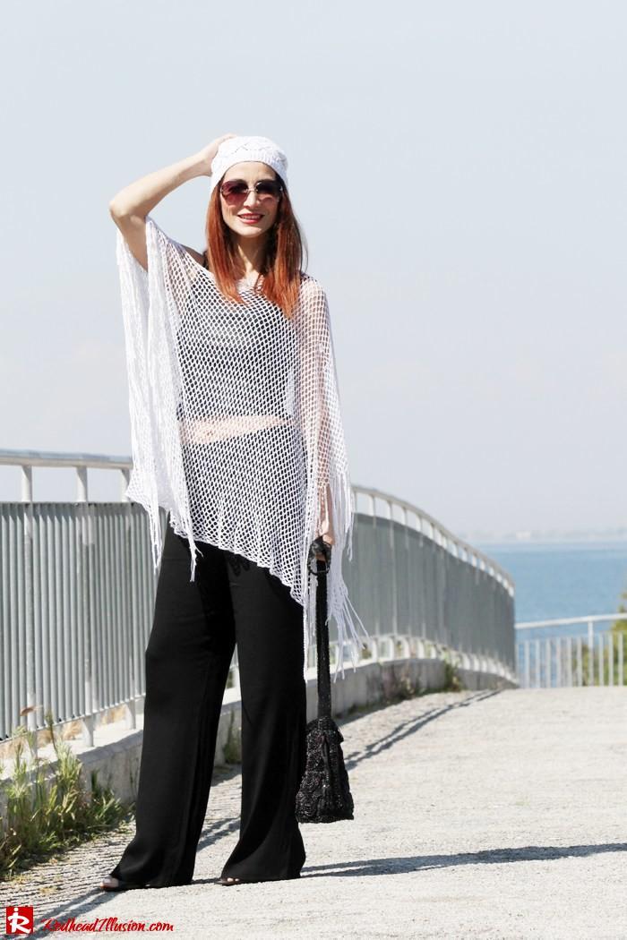 Redhead Illusion - Crochet story and other-Crochet Shawl-Crochet Beanie-09