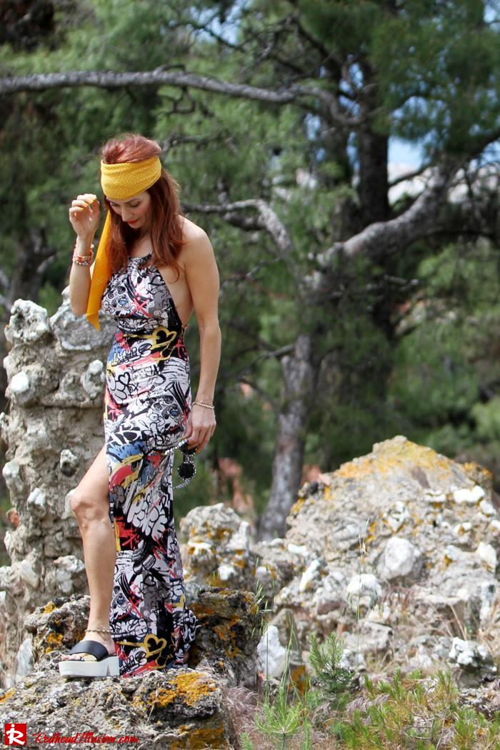 Redhead Illusion - Hippie chic-Denny Rose Dress-02