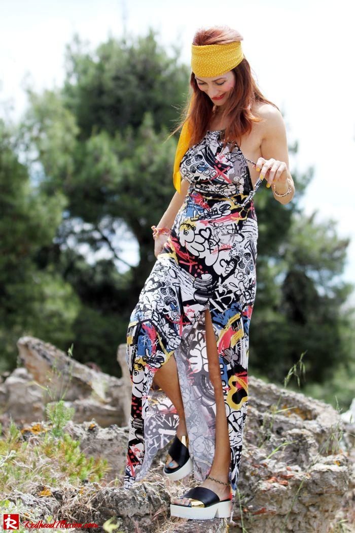 Redhead Illusion - Hippie chic-Denny Rose Dress-03