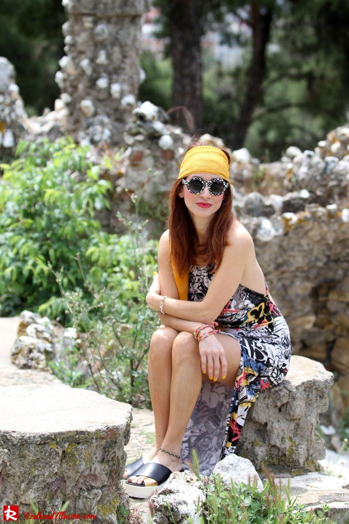 Redhead Illusion - Hippie chic-Denny Rose Dress-08