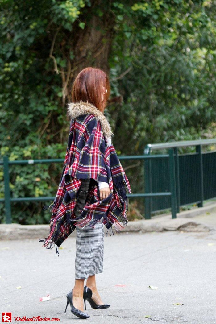 Redhead Illusion - Warm and cozy plaid - River Island Cape-06