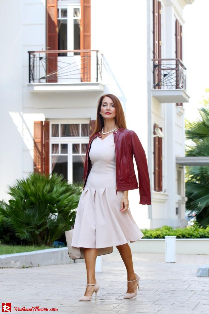 Redhead Illusion - Pink mood - H&M Dress - Massimo Dutti Jacket-04