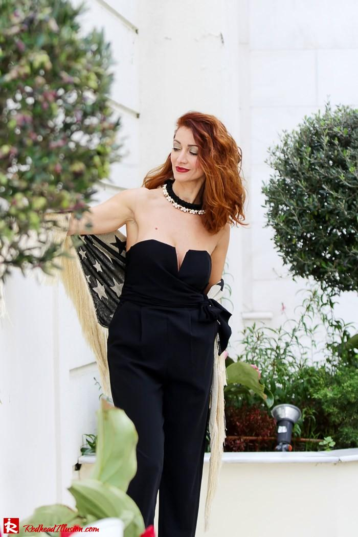 Redhead Illusion - My obsession goes on - Denny Rose Jumpsuit-05