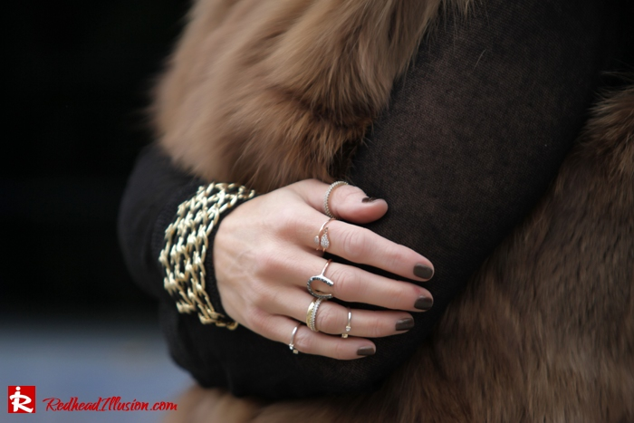 Redhead Illusion - Fashion Blog by Menia - Bronze Skirt - River Island Skirt-05