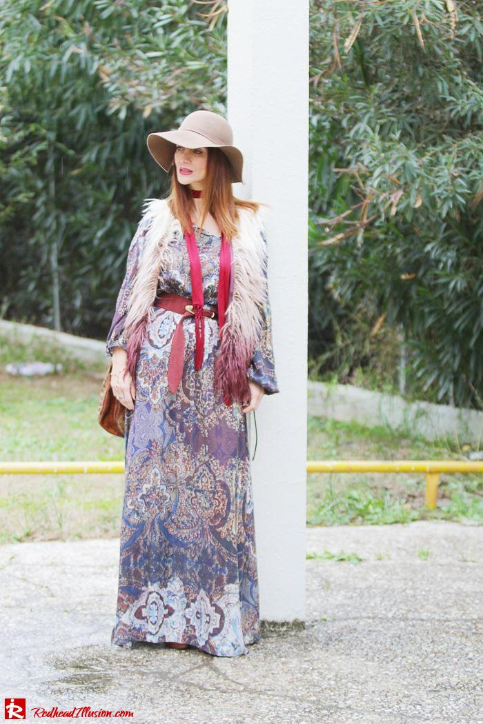 Redhead Illusion - Fashion Blog by Menia - One and only - Peasant Dress by Access-09