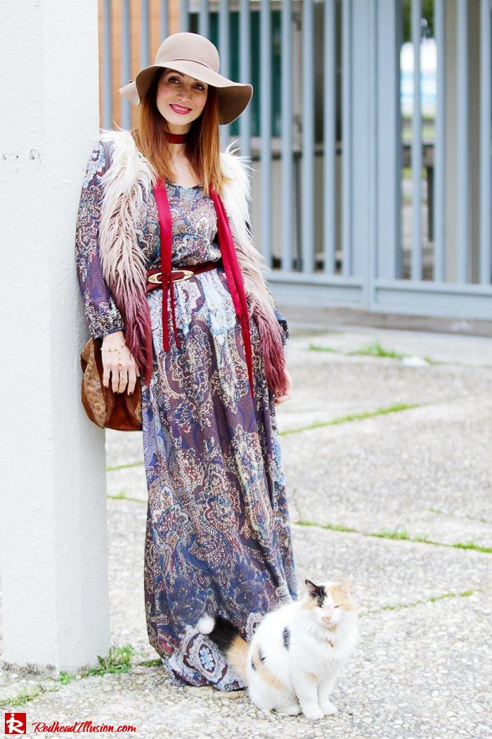 Redhead Illusion - Fashion Blog by Menia - One and only - Peasant Dress by Access-13
