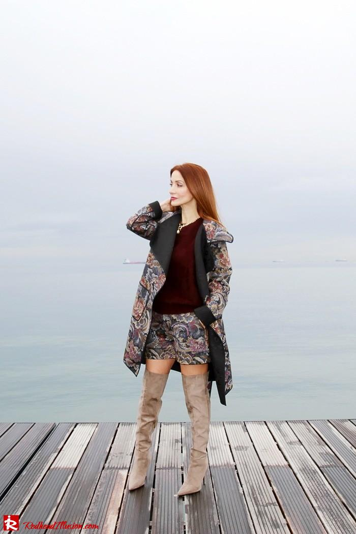 Redhead Illusion - Fashion Blog by Menia - Brocade - Access Total Look - Fedora Fashion-12