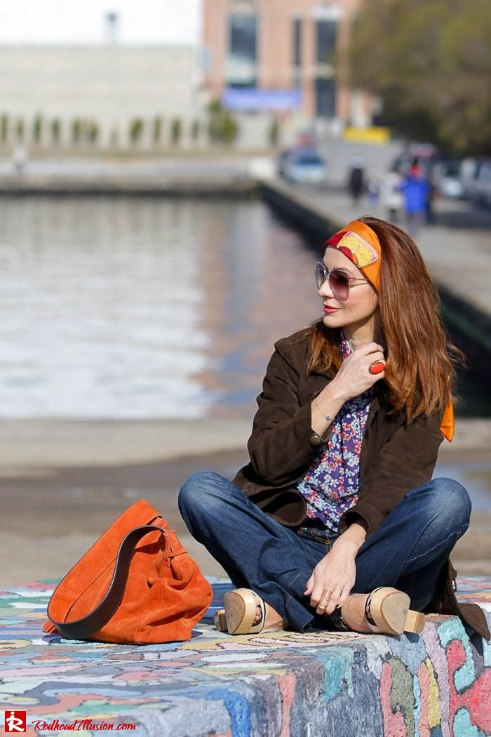 Redhead Illusion - Fashion blog by Menia - Flared Jeans - Denny Rose Jeans-05