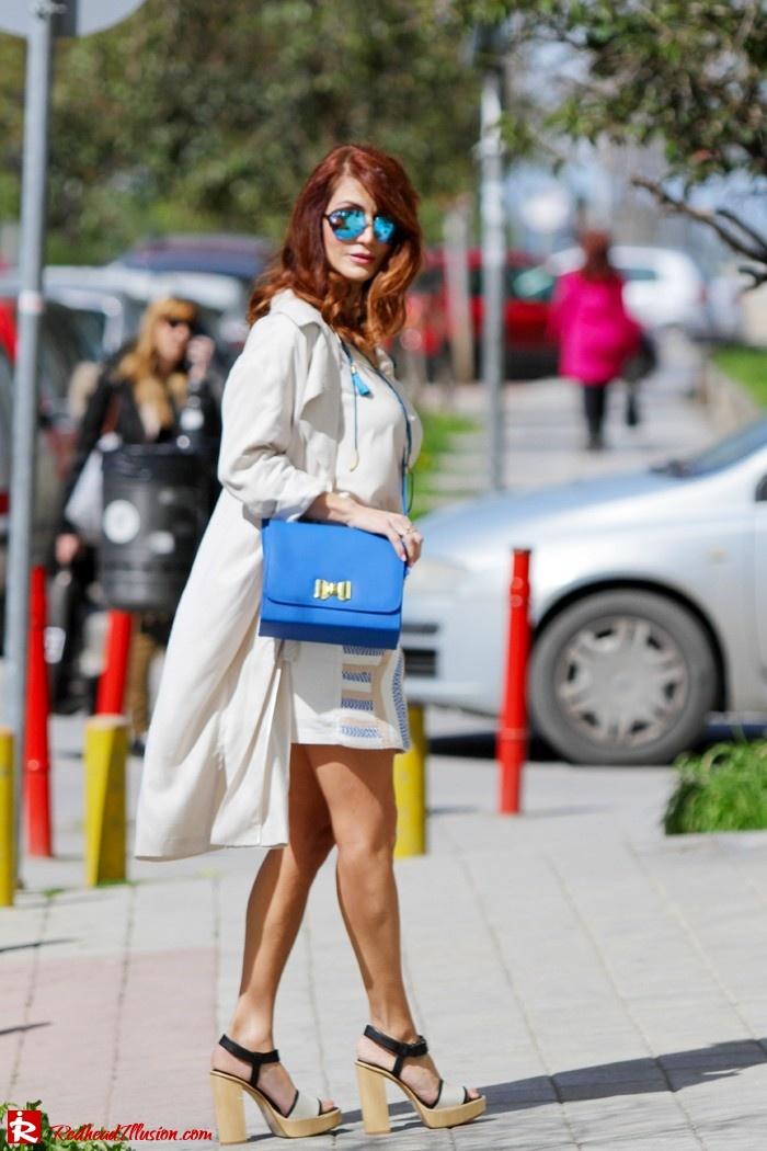 Redhead Illusion - Fashion blog by Menia - Embroidered Skirt - H&M-06