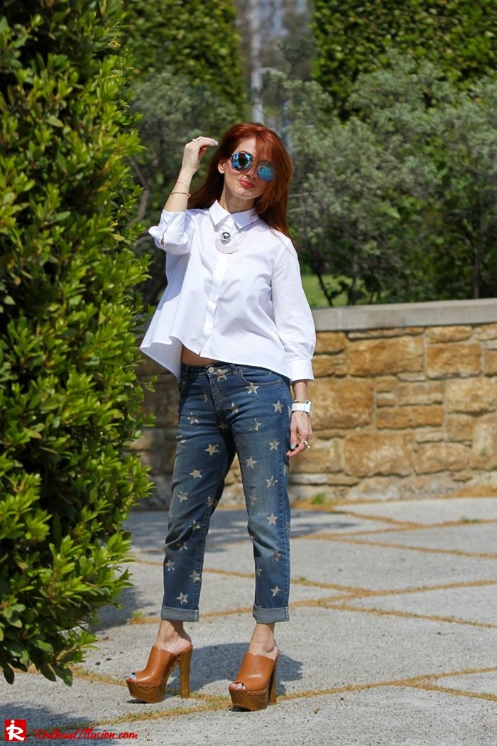 Redhead Illusion - Fashion Blog by Menia - Not classic - Denny Rose Jeans and Shirt-03