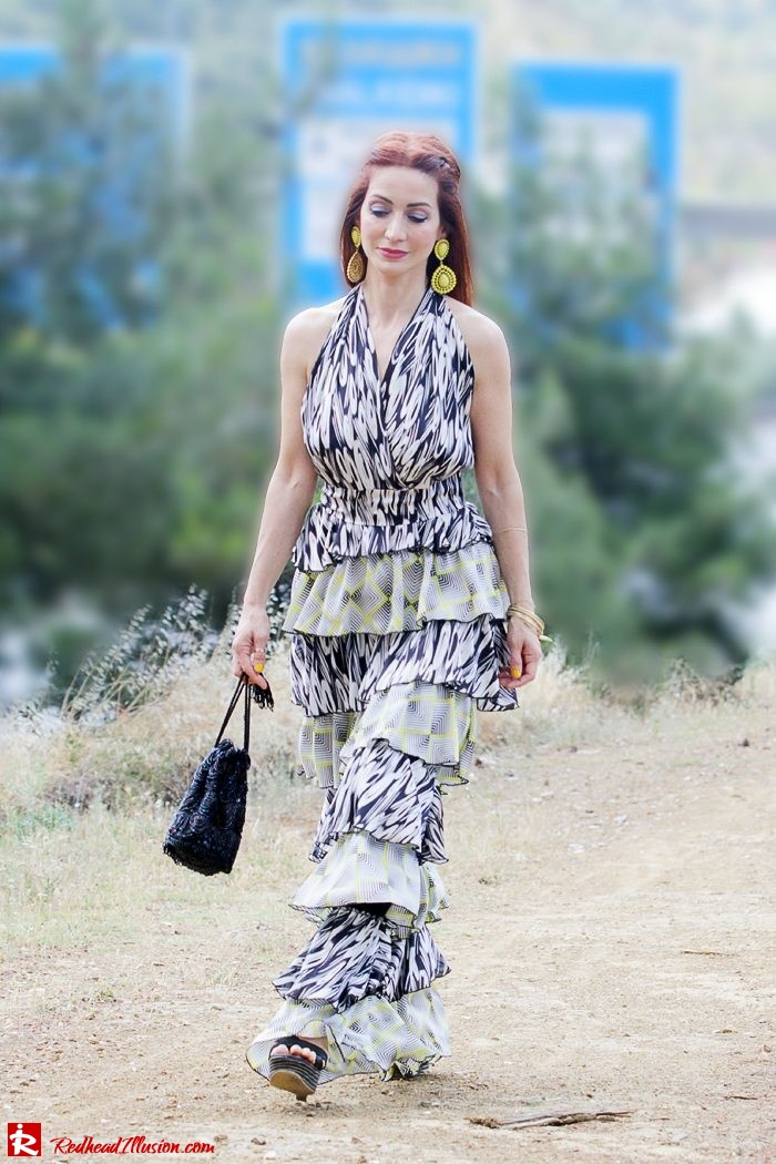 Redhead Illusion - Fashion Blog by Menia - Gipsy Land - Long Dress with Platform Shoes-04