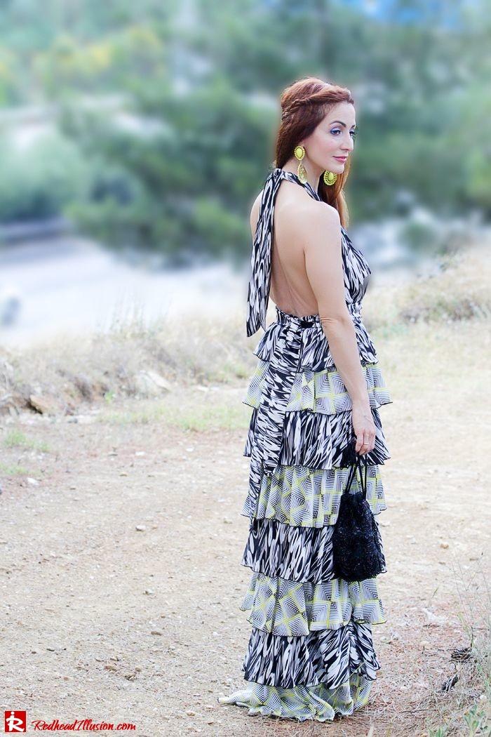 Redhead Illusion - Fashion Blog by Menia - Gipsy Land - Long Dress with Platform Shoes-05