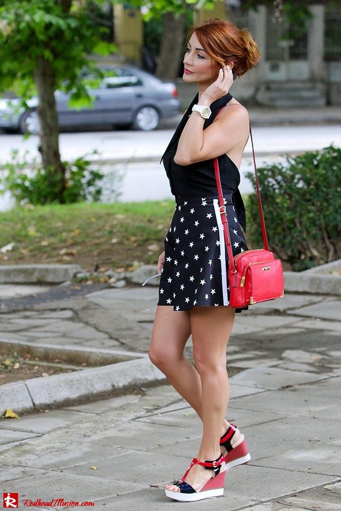 Redhead Illusion - Fashion Blog by Menia - City look - Denny Rose shorts-05