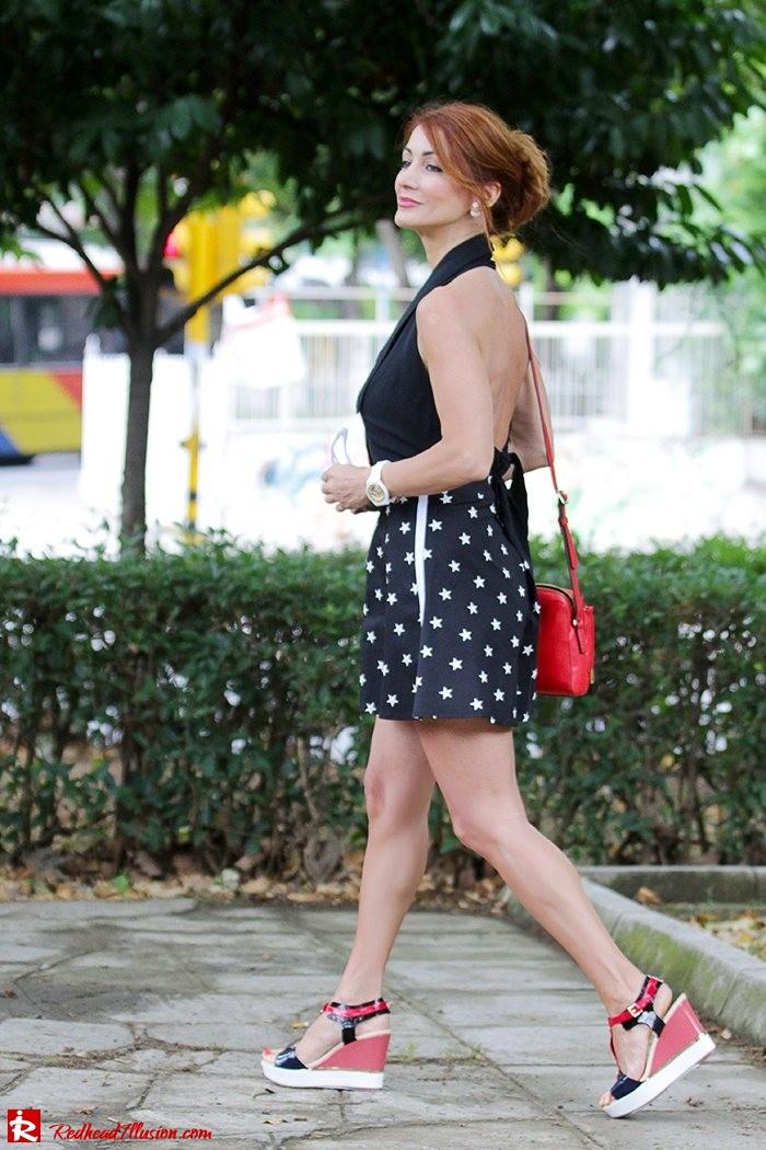 Redhead Illusion - Fashion Blog by Menia - City look - Denny Rose shorts-07