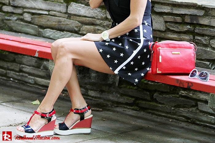 Redhead Illusion - Fashion Blog by Menia - City look - Denny Rose shorts-08