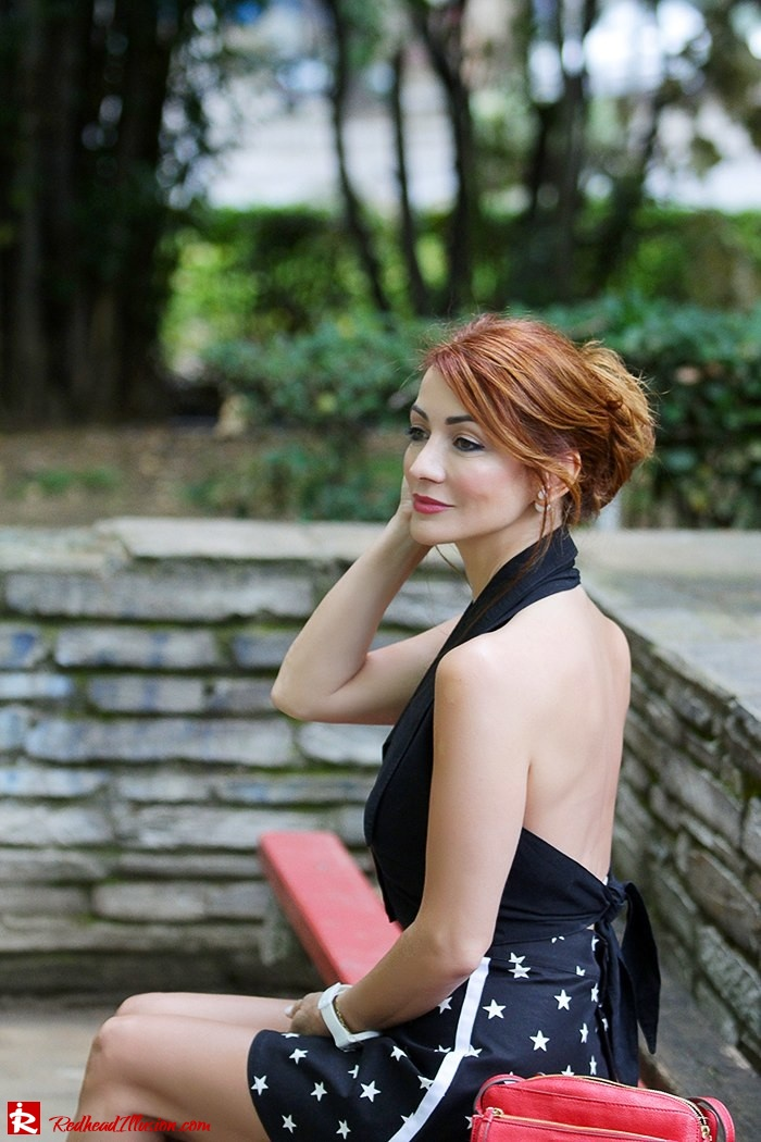 Redhead Illusion - Fashion Blog by Menia - City look - Denny Rose shorts-09