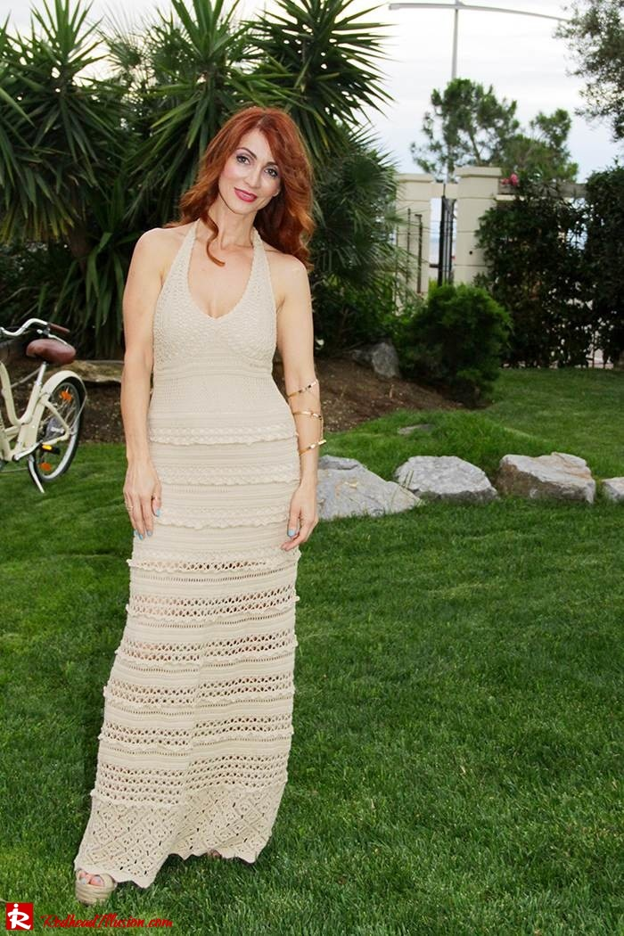 Redhead Illusion - Fashion Blog by Menia - Nude - Victoria Secret Crochet Dress-03