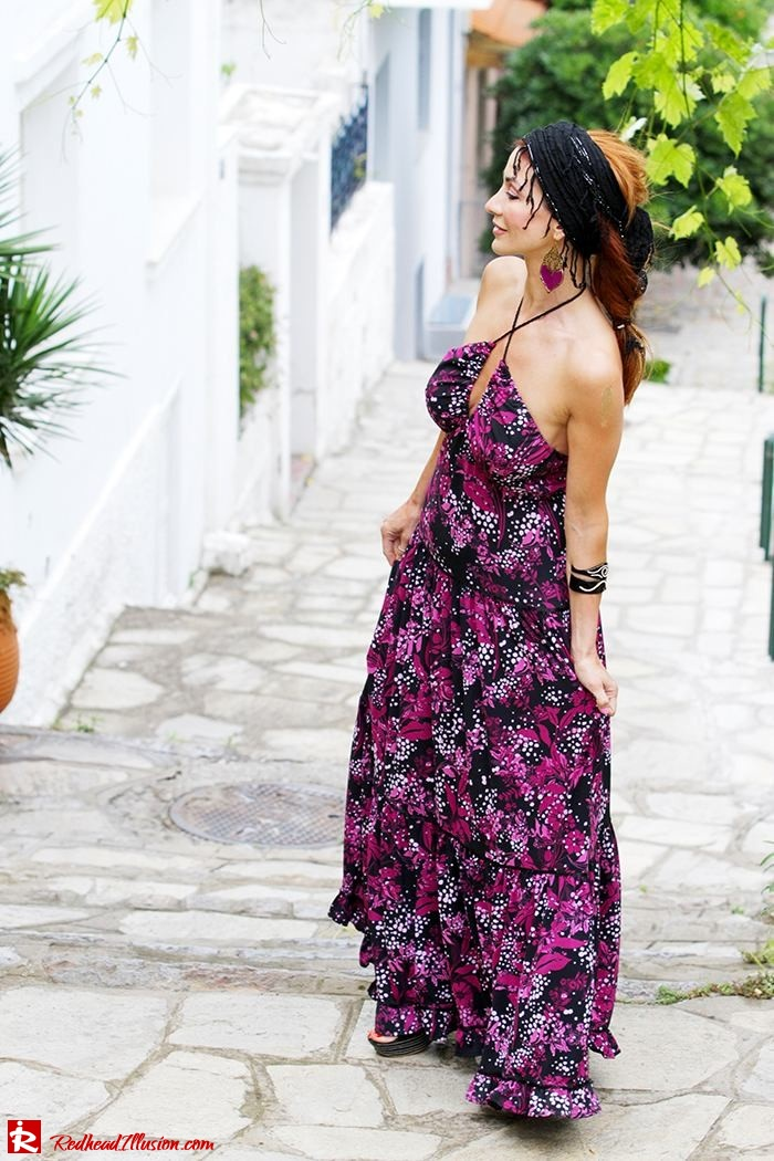Redhead Illusion - Fashion Blog by Menia - Maxi overload - Victoria's Secret Dress-05