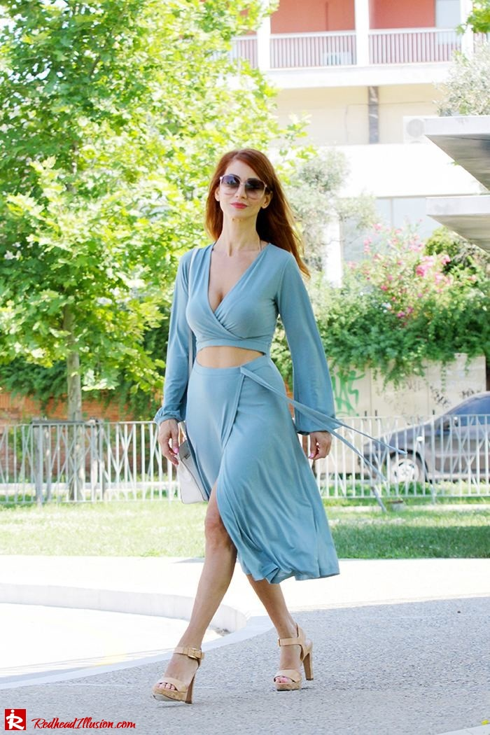 Redhead Illusion - Fashion Blog by Menia - Contrasts - Asos Dress - Gucci Sunglasses-03