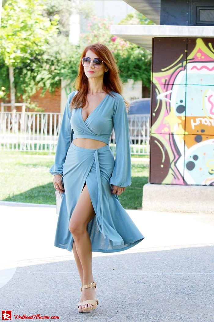 Redhead Illusion - Fashion Blog by Menia - Contrasts - Asos Dress - Gucci Sunglasses-10