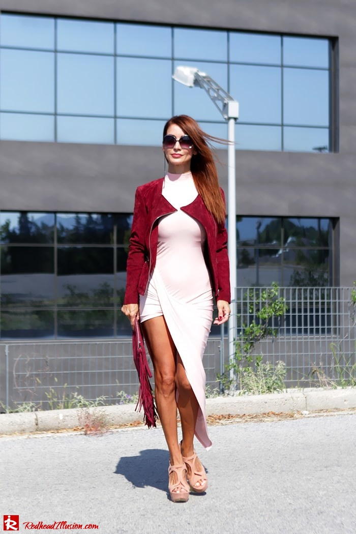 Redhead Illusion - Fashion Blog by Menia - Innocent... Pink - Asos Dress-04