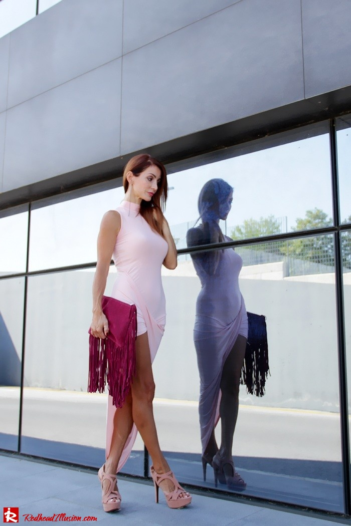 Redhead Illusion - Fashion Blog by Menia - Innocent... Pink - Asos Dress-07