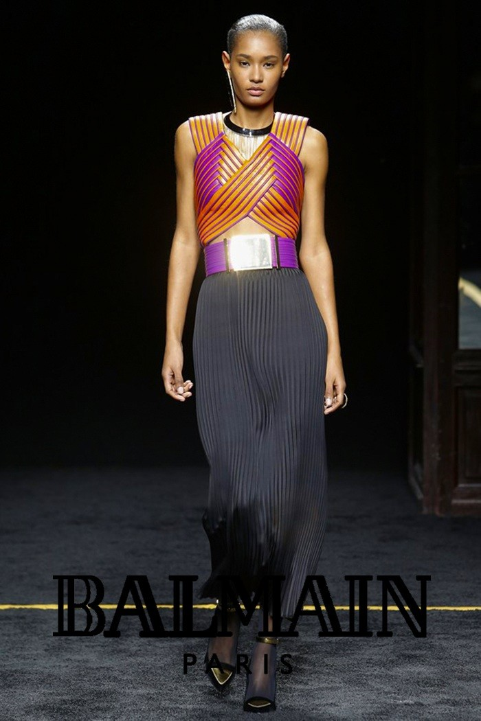 Redhead Illusion - Fashion Blog - Fashion Show Balmain - Autumn-Winter-2015-06