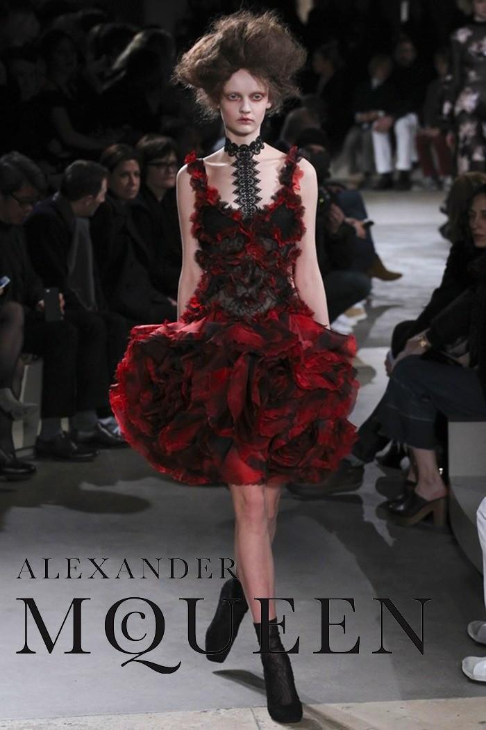 Redhead Illusion - Fashion Blog - Fashion Show - Alexander McQueen - Fall-Winter-2015-03