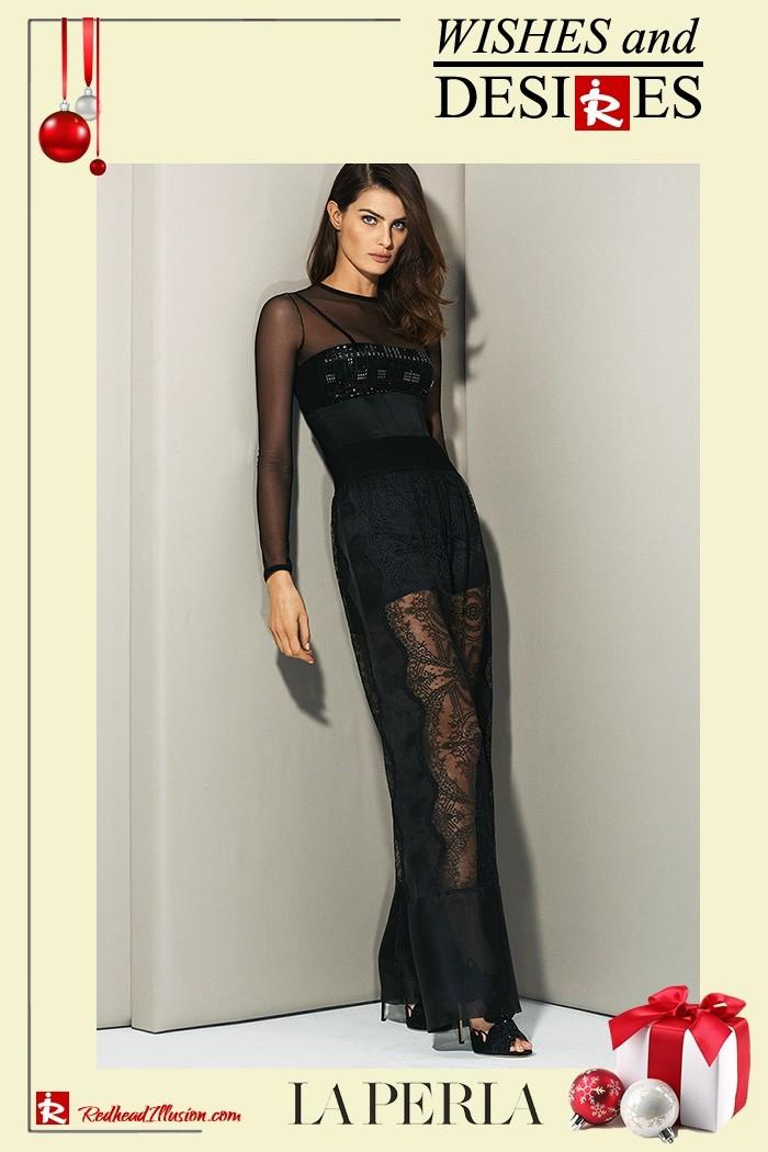 Redhead Illusion - Fashion Blog by Menia - Hidden Desires - La Perla Lingerie-04