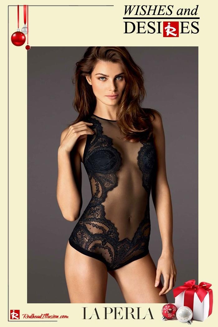 Redhead Illusion - Fashion Blog by Menia - Hidden Desires - La Perla Lingerie-18