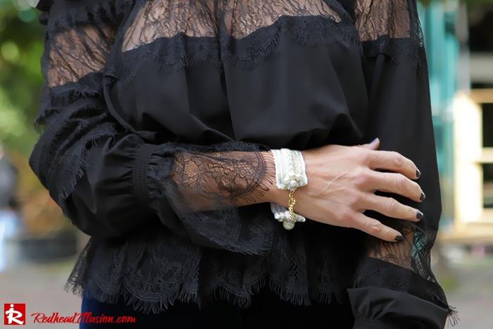 Redhead Illusion - Fashion Blog by Menia - Lace and Velvet - Victoria's Secret Blouse-05