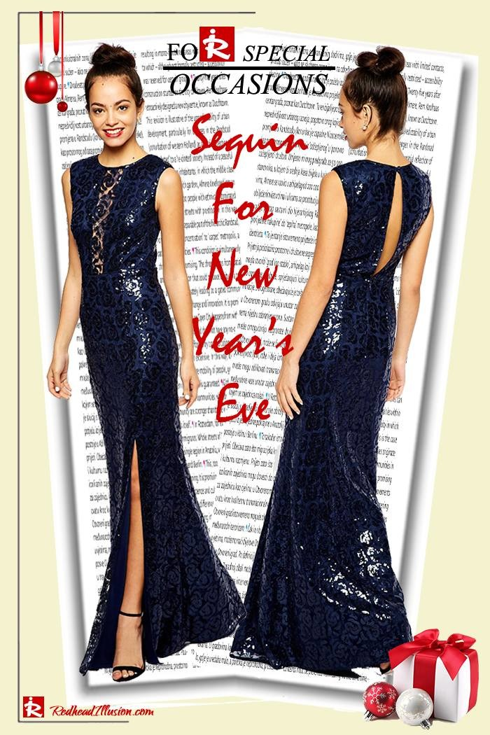 Redhead Illusion - Fashion Blog by Menia - Sequin for New Year's Eve-03