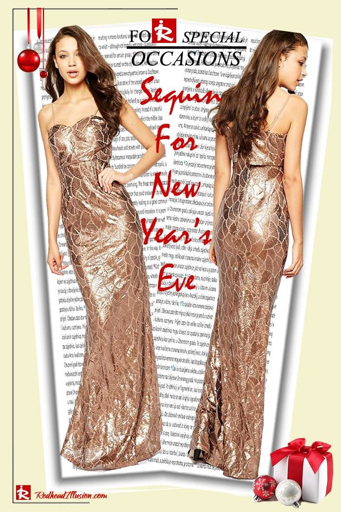 Redhead Illusion - Fashion Blog by Menia - Sequin for New Year's Eve-09