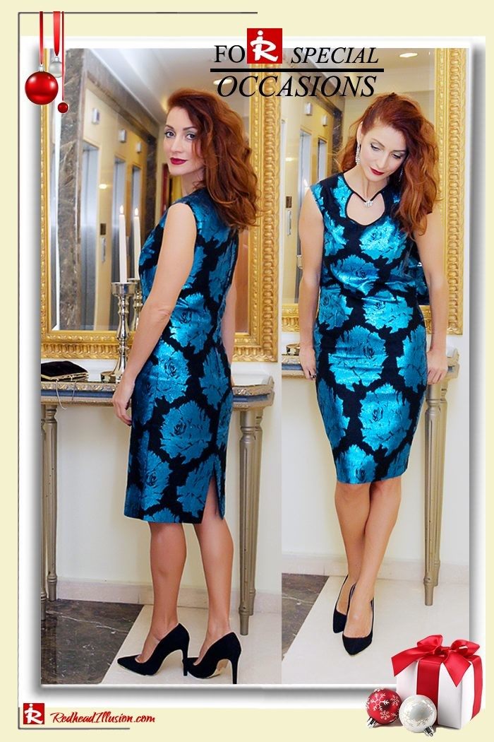 Redhead Illusion - Fashion Blog by Menia - Sequin for New Year's Eve-15