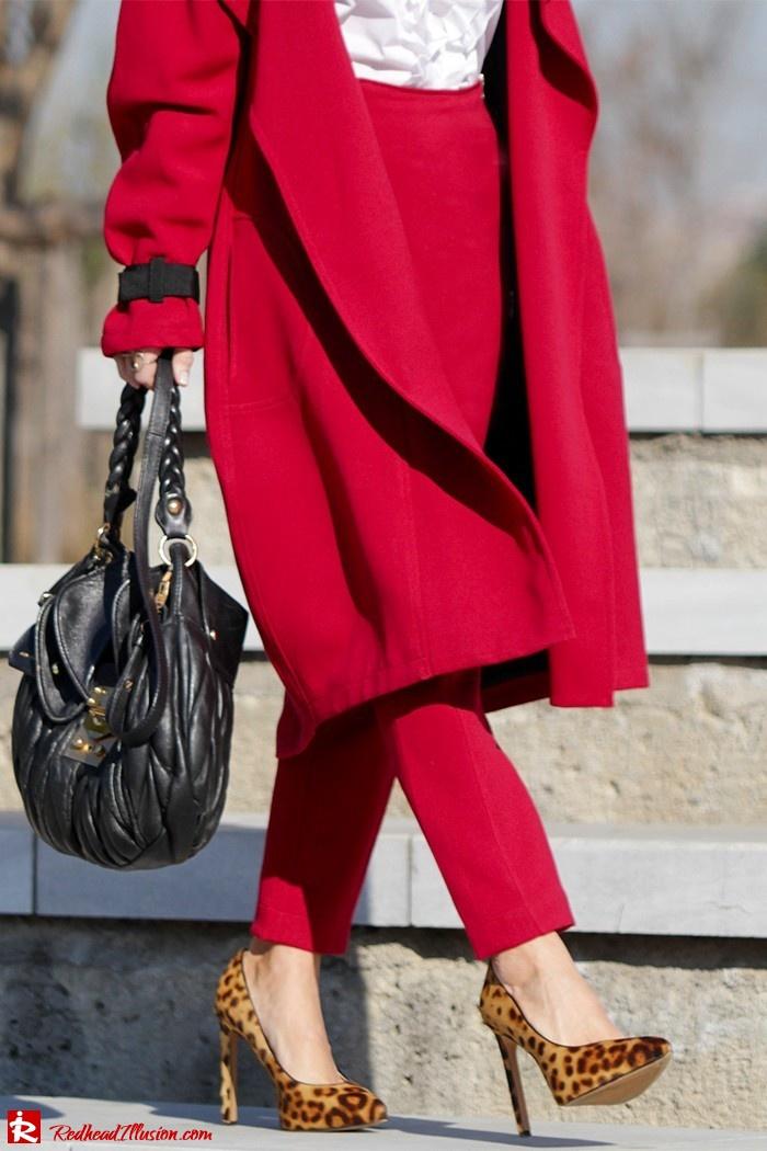 Redhead Illusion - Fashion Blog by Menia - Red of course - Access Red Ensemble - Miu-Miu-bag-02