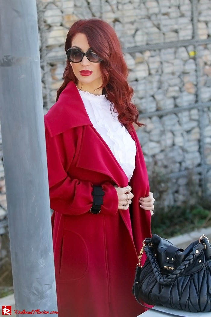 Redhead Illusion - Fashion Blog by Menia - Red of course - Access Red Ensemble - Miu-Miu-bag-10